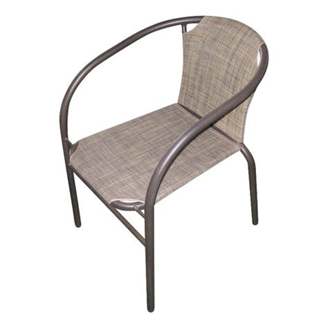 Stacking Sling Chair Walmart by Mainstays Steel Sling Stacking Chair Patio Furniture