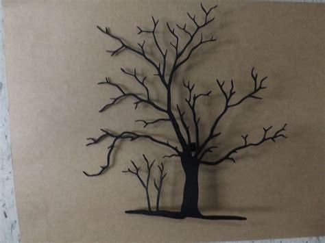 Tree Wall Decor Metal by Beautiful Lodge Handmade Black Metal Wall 3d Maple
