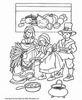 Coloring Thanksgiving Plantation Indian Native American Fun Feast Template Bible Scenes Printable Sketch Story Printables Turkey sketch template