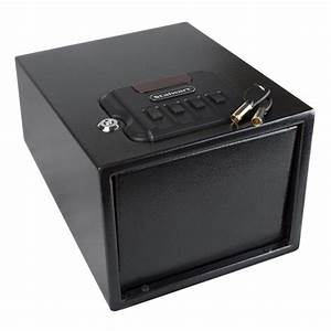Gun Safe With Digital Lock And Manual Override Keys By