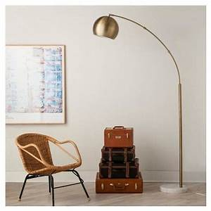best 20 arc floor lamps ideas on pinterest minimalist With cfl overarching floor lamp antique brass natural