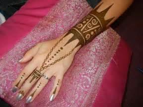 Henna Arm Cuff Tattoo