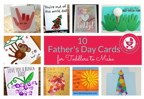 make a s day card 10 easy father s day cards for toddlers to make