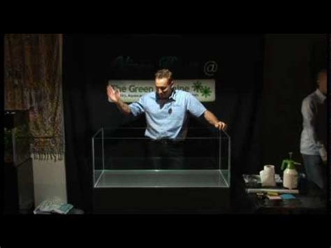 Oliver Knott Aquascaping by Oliver Knott The Green Machine Aquascaping Demo Part 1