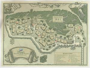 Hilton Head Disney Resort Map
