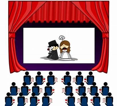 Theater Clip Clipart Transparent Theatre Cinema Cinemas