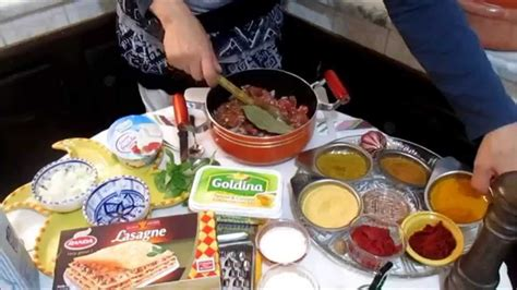 recette cuisine en arabe lasagne recette tunisienne لازانية على الطريقة التونسية