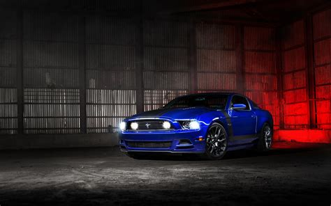 Blue Mustang Wallpaper Iphone by Ford Mustang Blue Wallpaper Hd Car Wallpapers Id 5626