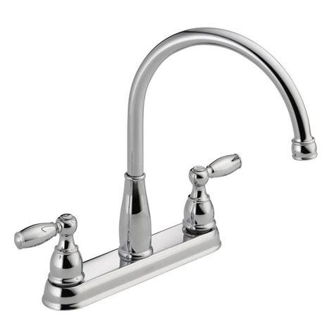 delta two handle kitchen faucet repair delta foundations 2 handle standard kitchen faucet in