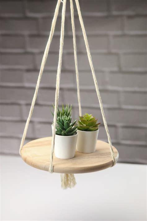 decorative hanging shelf diy crafts