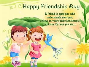 { Happy } Friendship Day 2016 - SMS, Quotes and Messages