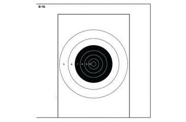 90020 Enforcement Targets Coupon by Enforcement Targets B 16 25 Yard Bullseye On