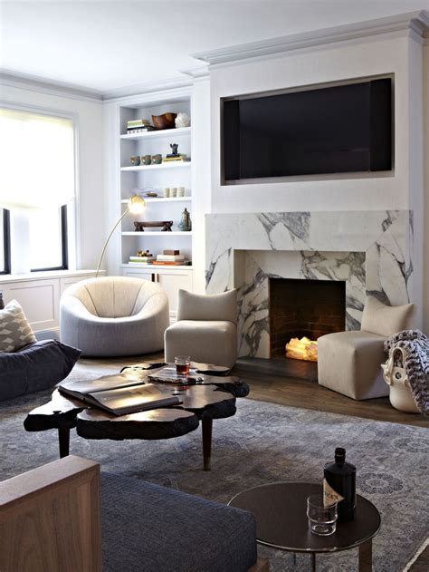 ideas  marble fireplace surround