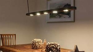 Esstisch Lampe Design : designer esstischlampe aus treibholz mit led beleuchtung ~ Markanthonyermac.com Haus und Dekorationen