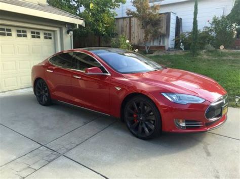 Fully Electric Cars For Sale by Fully Loaded Perofrmance 2014 Tesla P85 21in Rims