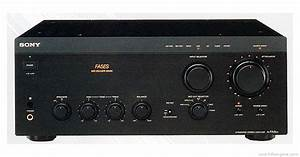 Sony Ta-fa5es - Manual - Integrated Stereo Amplifier