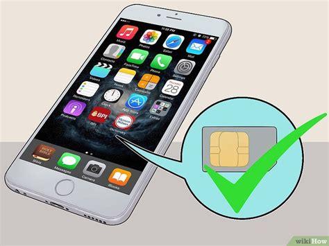 die sim karte aus einem iphone bekommen wikihow