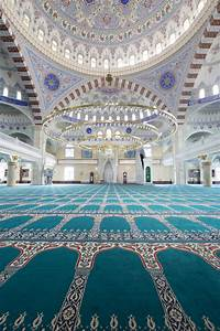 Beautiful Mosque Inside Wallpaper