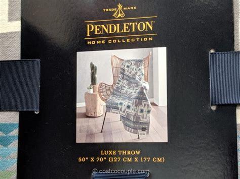 pendleton luxe throw