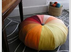 12 Stylish and Super Comfy DIY Giant Floor Pillows