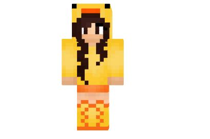 duck girlie skin minecraft azminecraftinfo