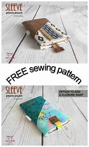Sleeve Phone Pouch Free Sewing Pattern  Make This Very