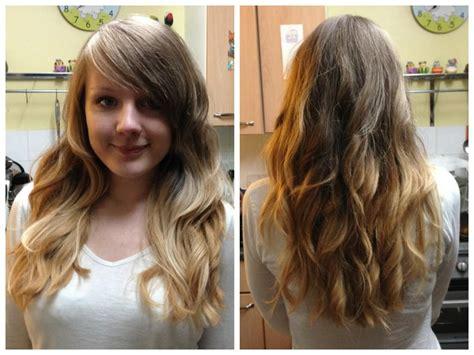 My Diy Blonde Ombre Dip Dye Hair Raindrops Of Sapphire