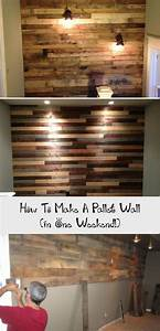 How, To, Make, A, Pallet, Wall, In, One, Weekend, In, 2020
