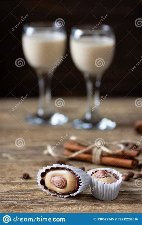 Takes no time to make and saves you money. Sweet Candies And Irish Cream Coffee Liqueur Stock Image ...