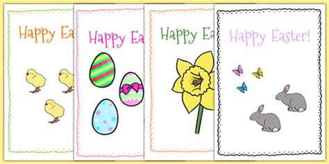 easter card templates  easter topic easter happy