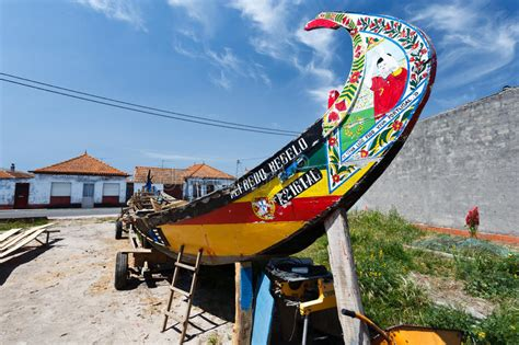 Portuguese Fishing Boat Plans by Portuguese Fishing Boat Moliceiros In Drydock Being