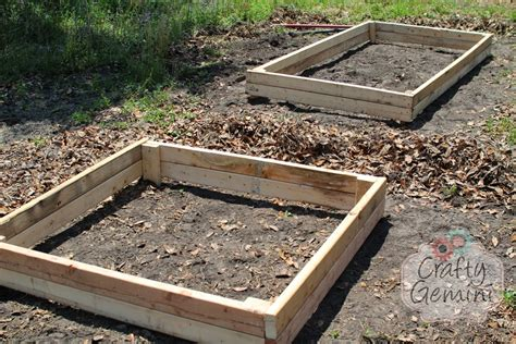 how to build a raised garden bed for 15 crafty