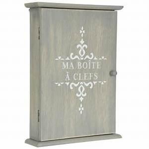Boite A Cles Murale : boite armoire cl s murale rangement des clefs en bois achat prix fnac ~ Teatrodelosmanantiales.com Idées de Décoration