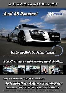 Renntaxi Audi R8 : mit dem r8 renntaxi ber die nordschleife start fo ~ Kayakingforconservation.com Haus und Dekorationen