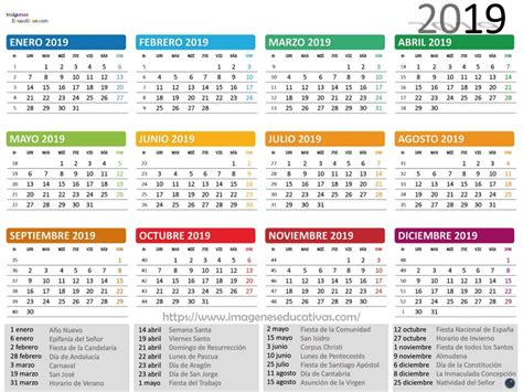 calendario imagenes educativas
