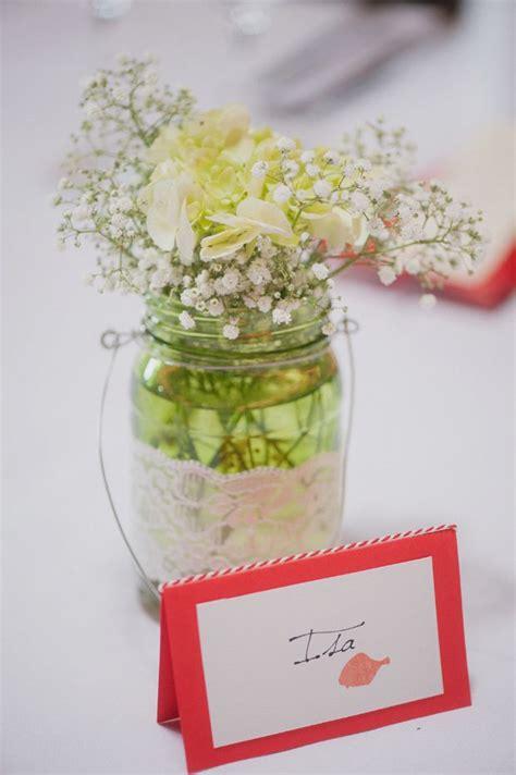 Tischdeko Mit Einmachgläsern by Blumen In Einmachgl 228 Sern Tischdeko Hochzeit Diy