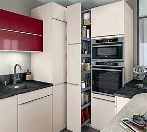 Amenagement Petite Surface : petites cuisines amacnager un petit espace mobalpa un mobilier intacgrac pour optimiser la ~ Melissatoandfro.com Idées de Décoration