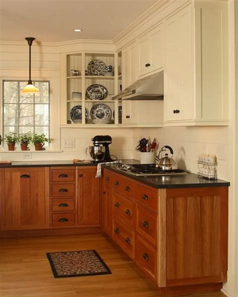 design a new kitchen mixed and lower cabinets kitchen 6553