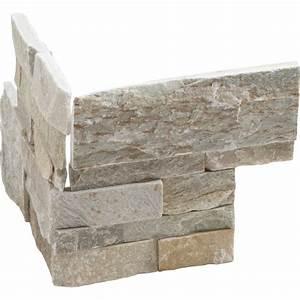 Leroy Merlin Plaquette De Parement : plaquette de parement angle sortant pierre naturelle beige ~ Dailycaller-alerts.com Idées de Décoration