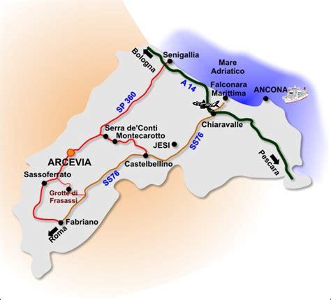 Ufficio Postale Fabriano by Comune Di Arcevia Provincia Di Ancona Dove Siamo