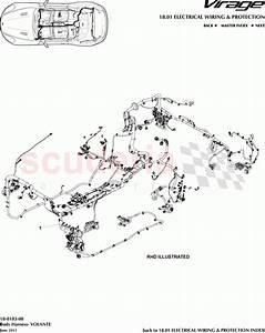 Aston Martin Virage Body Harness  Volante  Parts