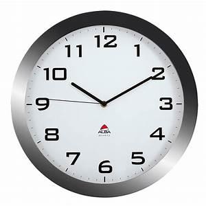 Horloge Murale Silencieuse : horloge murale alba horissimo silencieuse grand format ~ Melissatoandfro.com Idées de Décoration