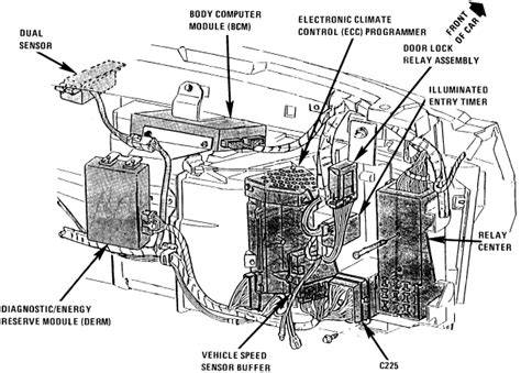 i am replacing the module on my 89 cadillac sedan de ville 4 5 v8 can t seem to