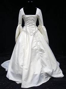 Victorian wedding gown by ravennacat on deviantart for Victorian era wedding dresses