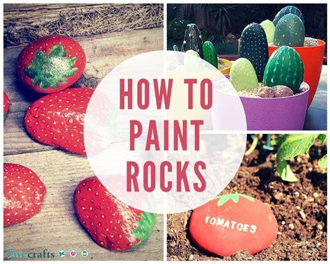 paint rocks  summer favecraftscom
