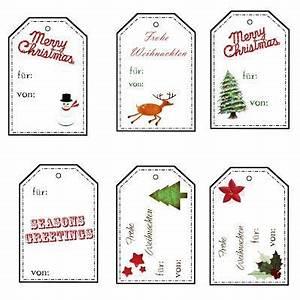 Geschenkanhänger Weihnachten Drucken : last minute christmas tags f r euch zum ausdrucken etiketten geschenkanh nger weihnachten ~ Eleganceandgraceweddings.com Haus und Dekorationen