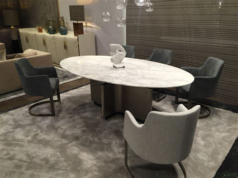 marble and wood dining table oval dining table designs a symbol of versatility and