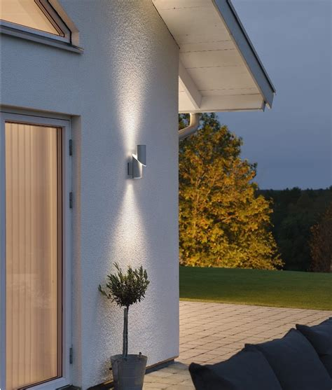 up and down wall lights high powered led exterior up down wall light beleuchtung
