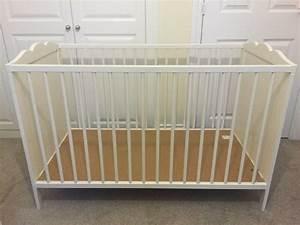 Ikea Babybett Hensvik : ikea cot bed hensvik cot white 60x120 cm in haywards heath west sussex gumtree ~ A.2002-acura-tl-radio.info Haus und Dekorationen