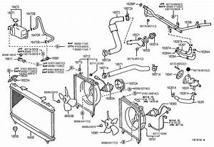 2013 Toyota Camry Engine Cooling System Diagram